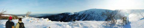 Fauteuil-ski sur la chaume Charlemagne avec Matthieu et Patrick