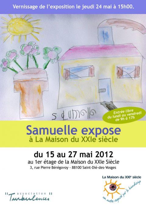 Vernissage de l'exposition de Samuelle