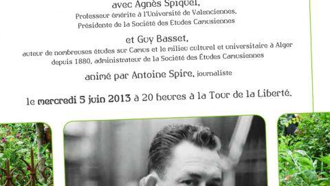 Espaces 88 : Albert Camus et nous, hommage du 1er au 5 juin