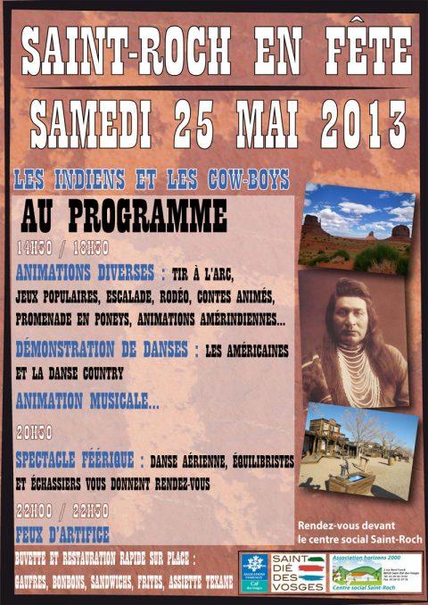 Saint-Roch en fête samedi 25 mai 2013