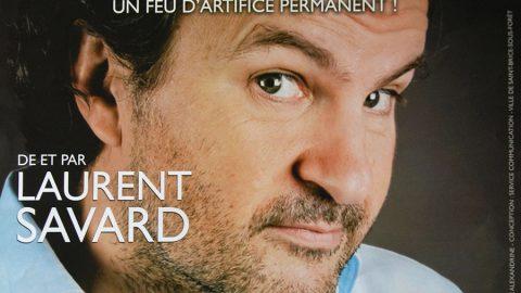 Spectacle de Laurent Savard à l'Espace Georges Sadoul le 22 octobre 2013
