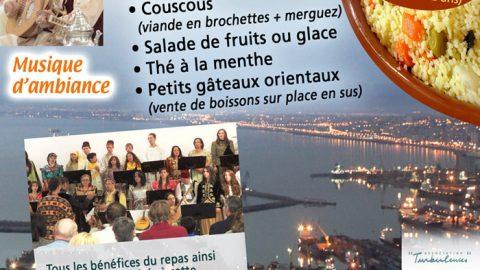 Repas solidaire au profit de l'Association Cham's le 22 février