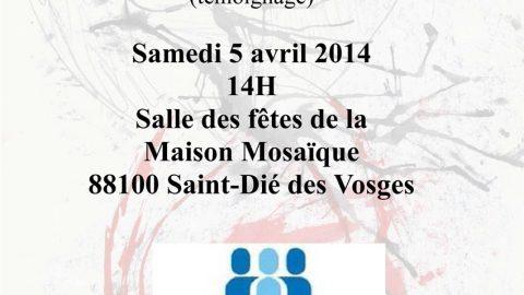 Projection du film «Les voix de ma sœur» le 5 avril à Mosaïque suivi d'un débat