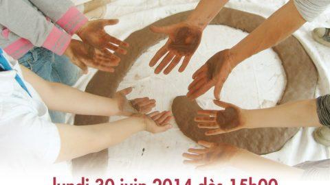 """Invitation à découvrir le """"Jardin Tactile et Sonore"""" de La Maison du XXIe siècle le lundi 30 juin 2014 dès 15h00"""