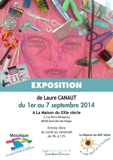 Exposition de Laure Canaut du 1er au 7 septembre 2014