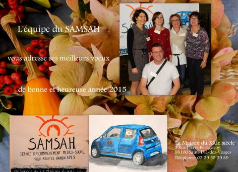 Le Samsah vous présente ses meilleurs vœux !
