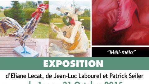 Exposition «méli-mélo» à La Maison du XXIe siècle en octobre