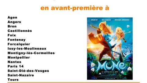 Projection ciné-ma différence du film «Mune» en avant-première le dimanche 27 septembre 2015 à 14h30