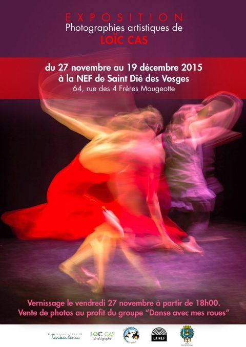Exposition des photographies de Loïc à la NEF de Saint Dié à partir du 27 novembre 2015