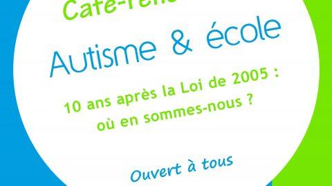 Café-rencontre sur le thème de la scolarisation organisé par l'Association «Vers l'Autisme» le samedi 7 novembre 2015 à Mirecourt