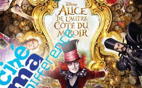 Projection ciné-ma différence du film «Alice de l'autre côté du miroir» à RAON L'ETAPE le dimanche 5 juin 2016