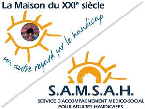 Logos de la Maison du 21ème Siècle et de S.A.M.S.A.H.